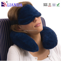 Hot sale best travel produts neck roll pillow easy to attach to a carry-on luggage