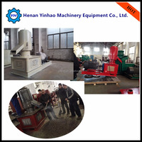 YH 2015 China CE flat die pine sawdust/beech wood/timber pellet mill price for sale