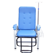 Modern patient hospital nursing used medical blood donation reclining phlebotomy infusion recliner chair bed