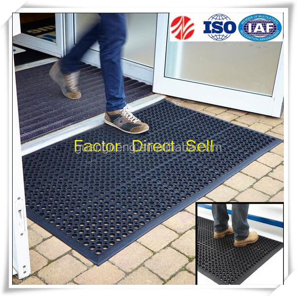 Anti fatigue and Stair Heavy Duty Aluminium Rubber Entrance Matting