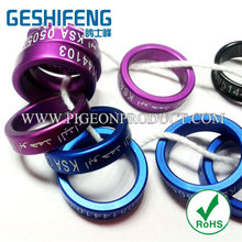 big size aluminium rings for pigeon,bird band,band for chicken,duck,geese foot ring