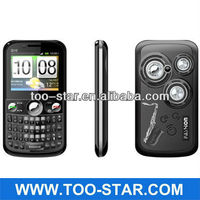 Hot sale Triple Sim Cards Triple Standby mobile phone Q10