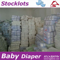 High Quality Large Quantity Cheapest Disposable B Grade Baby / Adult Diaper Supplier from China
