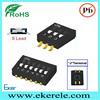 Position 1,2,3,4,5,6,8,10,12 SMT Half pitch 1.27mm Dip Switch