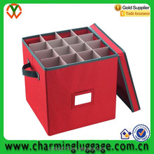 Premium China supplier OEM christmas decoration ornaments storage box
