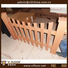 Wood Plastic Composite WPC Picket Fence /WPC Fence