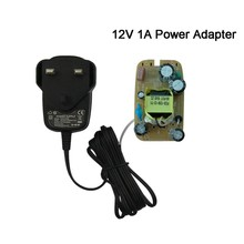 Over Voltage Protection UK 12W 12V1A 12V 1A Slim Power Most Cayenne Usb Adapter US Plug