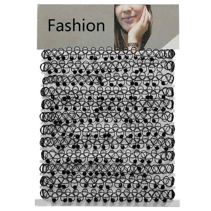 Wholesale Fashion Accessories Elastic Line Black
