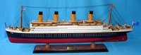 Titanic - Wooden ship model