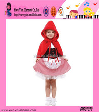 Special Design Princess Dance Dress Wholesale Hot High Quality Large Red Hat Child Festival Girl Dress