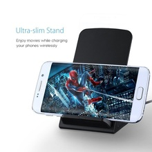 factory price high quality fantasy wireless charger for samsung s6 18650 qi wireless charger