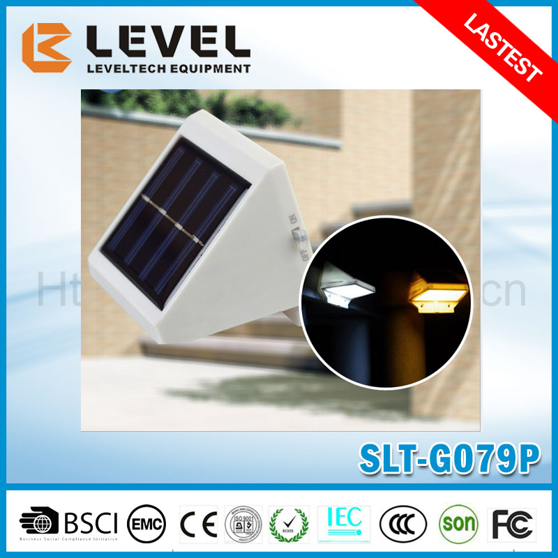 Outdoor Proof Solar Powered Fence Gutter Led Light Outdoor Garden Yard Wall Solar Fence Light Solar Fence Light
