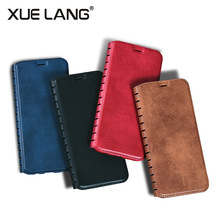 PU Leather Flip Smart Phone Case for Iphone 8 Wallet Stand with Card Holder Cell Phone Cover