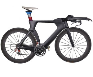 Hot selling Time Trial Race bike Frame T800 cheap Carbon fiber TT bicycle Frame