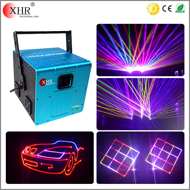 5w outdoor dj equipment prices rgb animation stage laser light