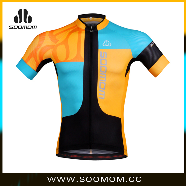 2014 hot sell new design custom cycling shirts