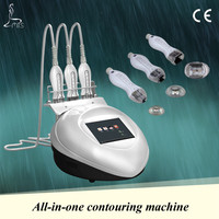 Radio frequency portable face lifting home cellulite machine with blue light