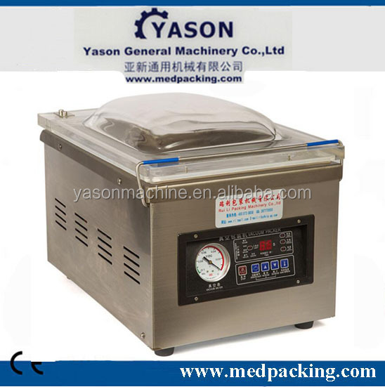 DZ-260 Nitrogen Gas Flush Portable Pillow Table Type Vacuum Packing Machine