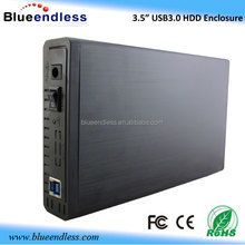 external hdd enclosure BS-U3PD sata ide combo hdd enclosure usb 3.0 3.5 hdd lan enclosure
