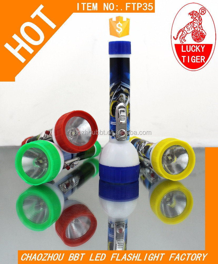 New Design Color Led Mining Flashlight Torch