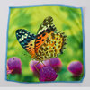 pengyuan supersoft microfiber square printed cheap hand towel for india market