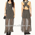 Breezy crisscross maxi dress african dresses