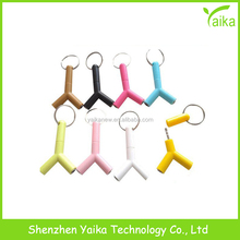 Yaika Gift Headphone Universal Music Headsets Speakers Splitter Adapter Plug Stereo Earphone For mobile