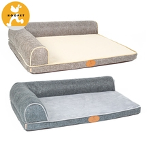new products dogs puppies mat with pillow memory foam mat for dogs