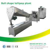 full automatic ball lollipop candy automatic single twist candy packaging machinery