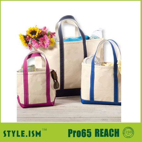 Customized/ wholesale Recycle cotton canvas tote bags promotion