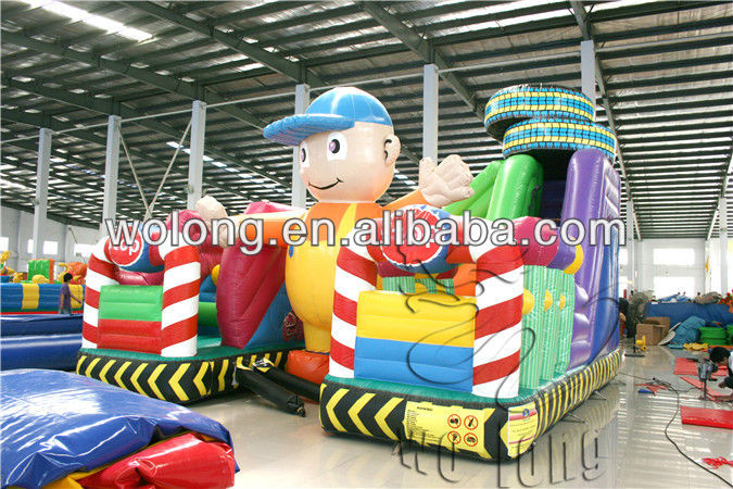fantastic promotional inflatable sports game / inflatable super track