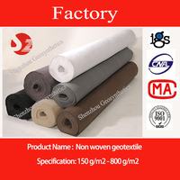Polypropylene non-woven grey fabric felt
