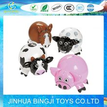 2015 Hot sale PVC giant inflatable farm animals