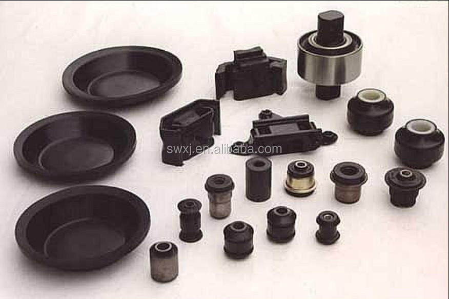 customed auto rubber bushing/round rubber bushing