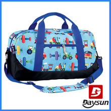 Travel Bag with Adjustable Shoulder Straps and Easy Rolling Wheels