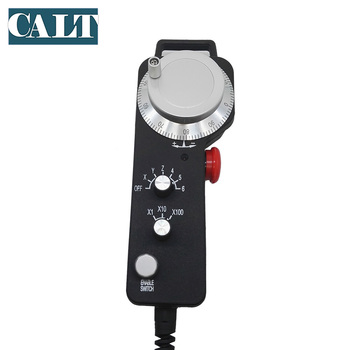 CALT hand wheel 6 Aixs 100 p/r ABZ phase manual pulse generator TM2080-100BML5 for cnc machine