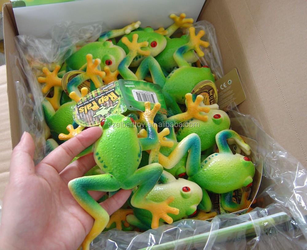 realistic squishy plastic farm frog animal child toys view child