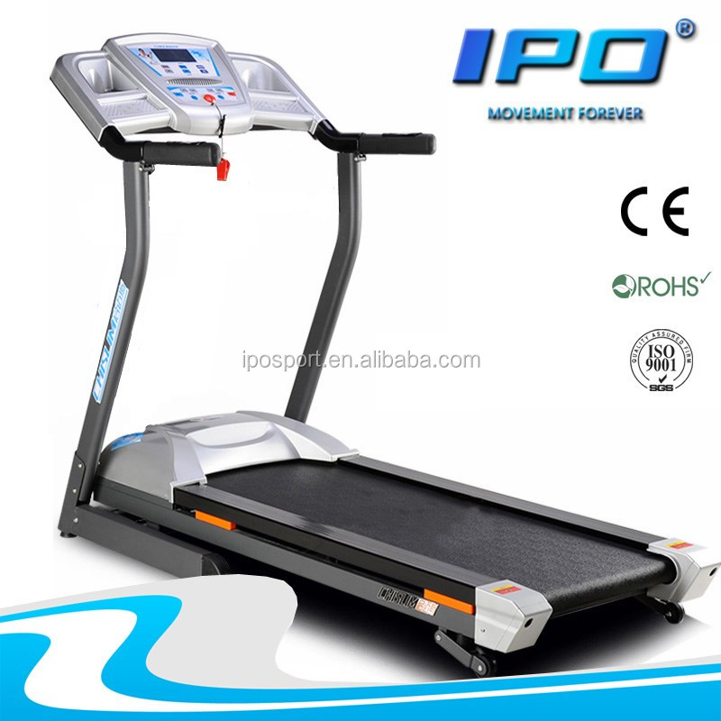 factory supplier multifunction treadmill with handrail heart rate monitor