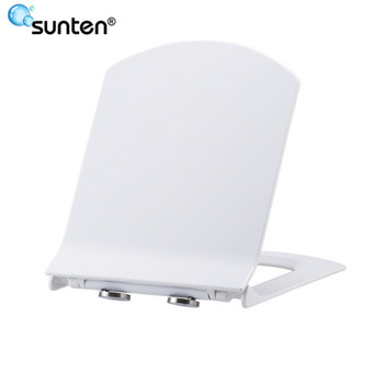 Sanitary Ware Soft Closing Ultra Slim D Shape Toilet Seat
