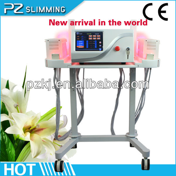 portable weight loss zerona lipo laser machine with Vibration bandage