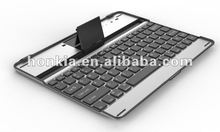 Aluminum Bluetooth Keyboard for Ipad 3 and Ipad 4 with Mutifuction Languages