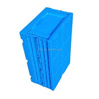 PP,Plastic Material and storage plastic collapsing folding crates