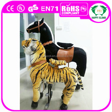 HI ASTM/CE walking walking stuffed mechanical horse animal ride for amusement park
