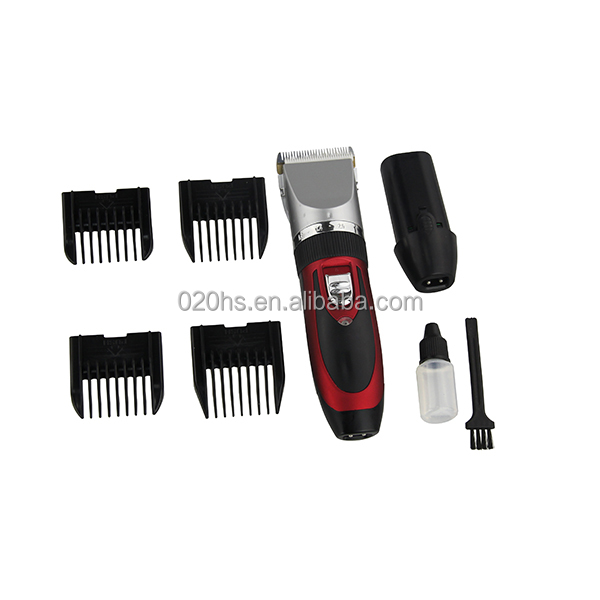 Low Noise Rechargeable hair trimmer Cordless Pet Dog hair clipper