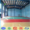 100% Surface PVC Indoor Sports Flooring For Badminton Court