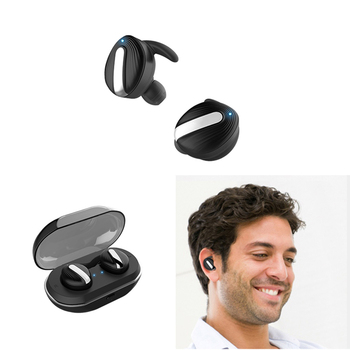 TWS Mini Stereo Headset In-Ear Waterproof Earbud Wireless Invisible Earphone