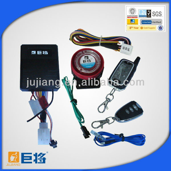 High Quality Two Way Motorcycle Alarm System