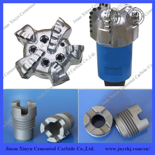 SGS Oil Well Drilling Tools DTH Rock Drill Hammer Bits Tungsten Carbide