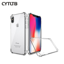 Mobile Back Cover For Iphone XR XS MAX Clear Case Ultra Thin Transparent TPU Phone Case For iphone XS Case