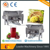 Leader upgread stainless steel grape press machine